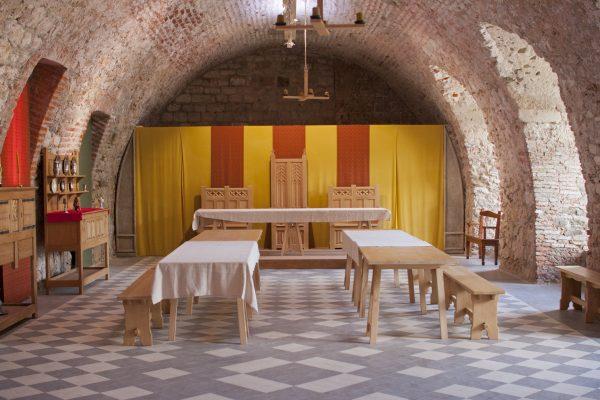 Château de Foix - salle de banquet